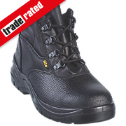 Site Slate Chukka Safety Boots Black Size 6