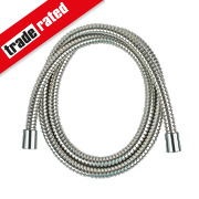 Swirl Shower Hose Flexible Stainless Steel 9mm x 1.5m