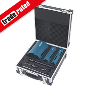 Erbauer Diamond Core Drill Kit 8Pcs