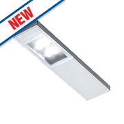 Sensio Quadra LED Cabinet Downlights Aluminium Pack of 3
