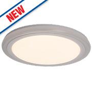 Brilliant Tizian LED Wall Light Satin White 22W 240V