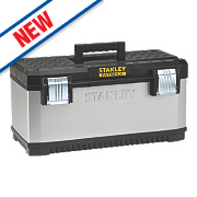 "Stanley FatMax 23"" Metal Plastic Tool Box"