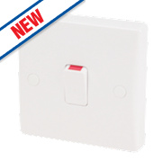 Schneider Electric Ultimate 1-Gang 20A Flex Outlet White