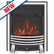 Focal Point Elysee Chrome Switch Control Electric Freestanding Fire
