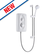 Mira Jump Electric Shower White / Chrome 10.8kW