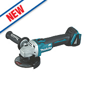 "Makita DGA454Z 4½"" Cordless Angle Grinder Brushless 18V - Bare"