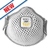 JSP Pro Flexinet Valved Odour Mask FFP2 Pack of 10