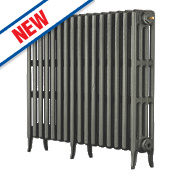 Arroll Neo-Classic 4-Column Cast Iron Radiator Cast Grey 760 x 960mm