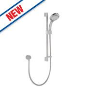 Mira 360 Shower Kit Modern White Chrome