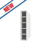 Wine Rack White 150 x 282 x 738mm