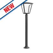 Philips Cottage Black LED Post Light 430Lm 4.5W