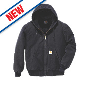 """Carhartt Sandstone Active Quilted Jacket Black Small 34-36"""" Chest"""