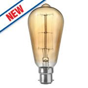 Sylvania Squirrel Cage Incandescent Vintage Lamp BC 60W