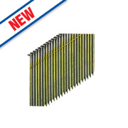 DeWalt Collated Framing Stick Nails Bright 2.8ga 75mm Pack of 2200
