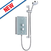 Mira Azora Electric Shower Frosted Glass 9.8kW