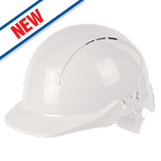 Centurion Concept Full Peak Vented Safety Helmet White