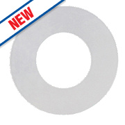 "Arctic Products Poly Sink Waste Washers White 1½"" Pack of 5"