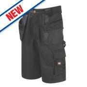 Lee Cooper LCSHO807 Holster Pocket Cargo Shorts Black 30