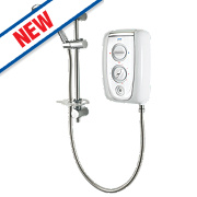 Triton Enthral Manual Electric Shower White/Chrome 8.5kW