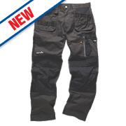 "Scruffs 3D Trade Trousers Graphite 40"" W 33"" L"