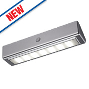 Sensio Mimas Rechargeable LED Cabinet Light & PIR Aluminium
