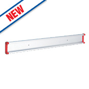 Bruns Extension Rail for Tool Storage System Aluminium/Red 55 x 20 x 500mm