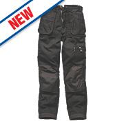 """Dickies Eisenhower Trousers Black 40"""" W 32"""" L"""