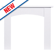 Focal Point Nebraska Fire Surround White