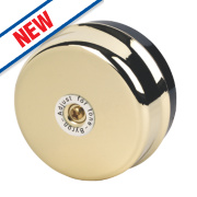 Byron Wired Underdome Bell Brass