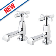 Watersmith Kensington Bathroom Basin Taps Pair