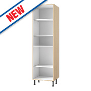 Oak Kitchen Tall Larder Cabinet 600 x 570 x 2115mm