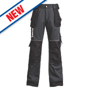 "Timberland Pro 614 Work Trousers Black / Charcoal 36"" W 30"" L"