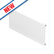 Barlo Round-Top Single Panel Radiator White 300 x 1000mm