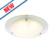 Spa Draco Bathroom Ceiling Light Chrome G9 28W