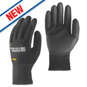 Snickers Weather Flex Sense Performance Gloves Black Large