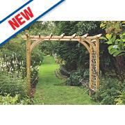 Forest Ultima Garden Pergola Arch 2.70 x 1.36 x 2.45m