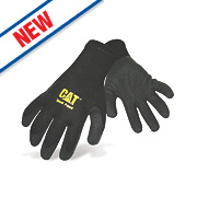 Cat 17410 Thermal Gripster Gloves Black X Large