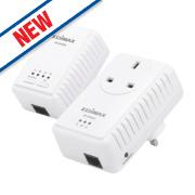 Edimax AV500 Wi-Fi Powerline Extender Kit 500Mbps