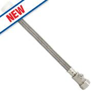 "Fluidmaster Click-Seal Flexible Hose Connector 15mm x ½"" x 300mm"