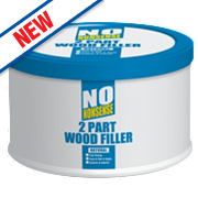 No Nonsense 2-Part Wood Filler Natural 500g