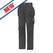 """Snickers 3714 Holster Ladies Trousers Size 10 28"""" L"""