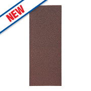 Flexovit Sanding Sheets Aluminium Oxide 230 x 93mm 50 Grit Pack of 10