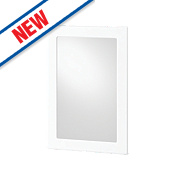 White Kitchens Profiled 500 Glass Wall Door 496 x 732mm