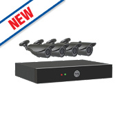 Yale 804A 4-Channel CCTV Digital Video Recorder with 4 Cameras
