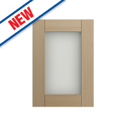 Oak Kitchens Shaker 500 Glass Wall Door 496 x 732mm