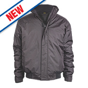 "Site Burr Pilot Jacket Black X Large 42-44"" Chest"