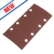Flexovit Sanding Sheets Aluminium Oxide 185 x 93mm 120 Grit Pack of 6