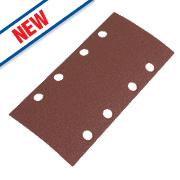 Flexovit Sanding Sheets Aluminium Oxide 185 x 93mm 120 Grit Pack of 6