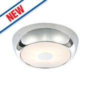 Spa Orion Bathroom Ceiling Light Small Chrome G9 28W