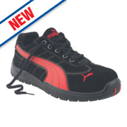 Puma Silverstone Low Safety Trainers Black Size 8